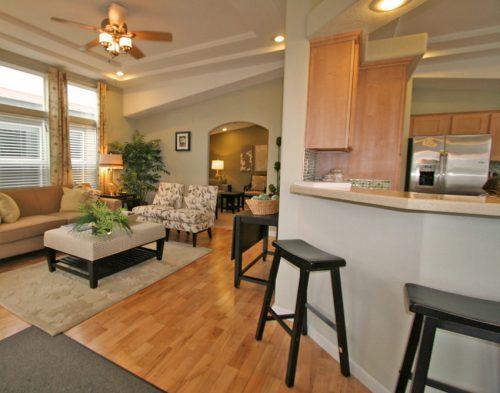 manufactured home design options-living room no front door
