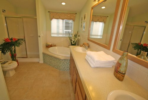 Manufactured home design options-master bath with tub