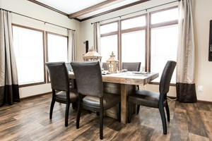 Manufactured home design series-dining room