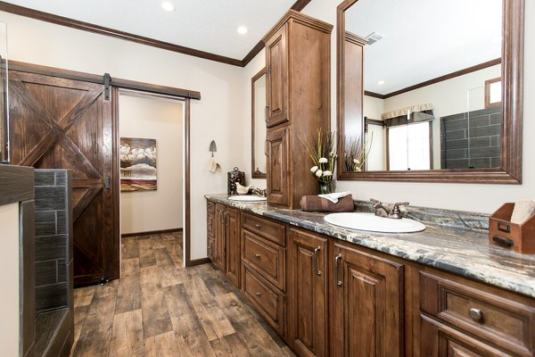 Manufactured home design series-master bath 2