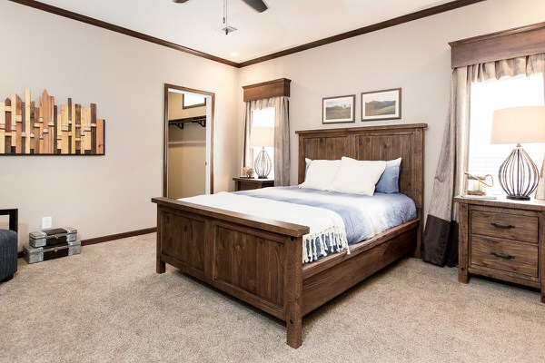 Manufactured home design series-master bedroom