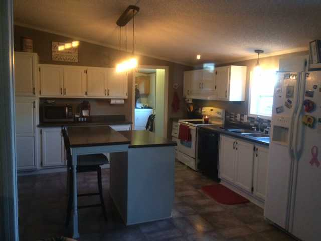 After Manufactured Home Kitchen Update On 600 Budget 14