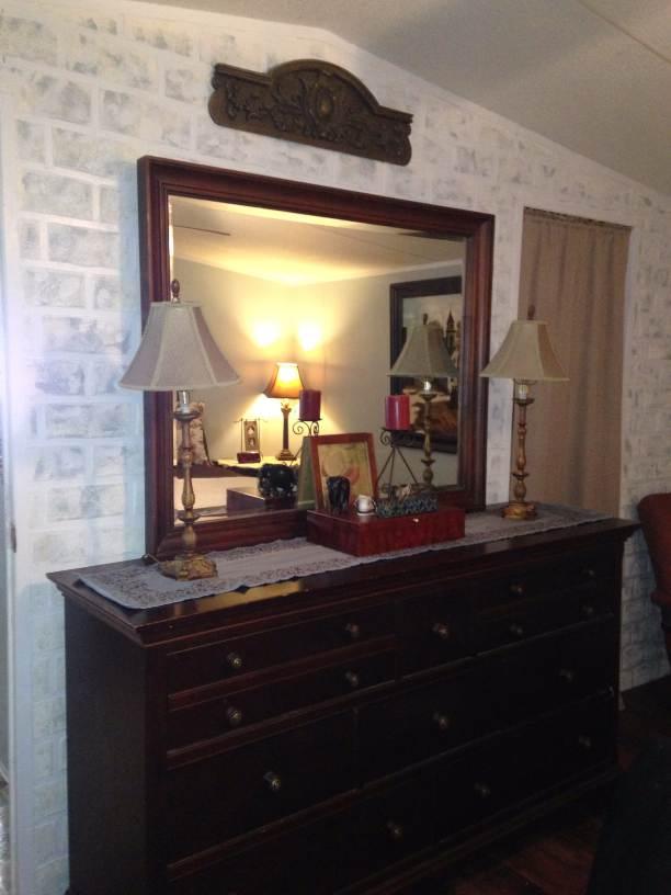 manufactured home makeover (master bedroom after)