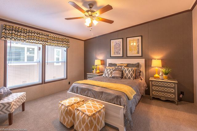 Featured manufactured home the arlington by palm harbor for New master bedroom designs