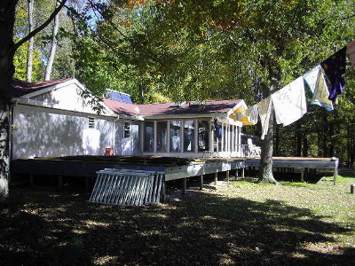 manufactured home transformation - after side view
