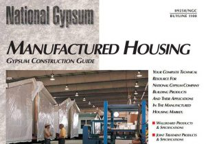 vinyl walls in mobile homes-manufactured housing gypsum construction guide