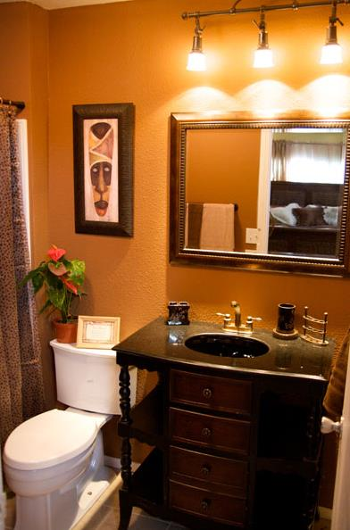 25 great mobile home room ideas for Home bathroom remodel