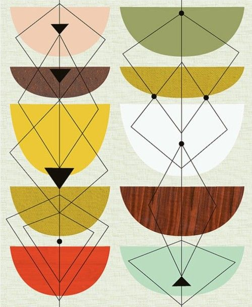 Gallery for mid century modern graphic design patterns - Mid century modern patterns ...