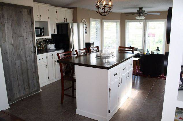 Single Wide Makeover: Modern Traditional Decor - Kitchen After