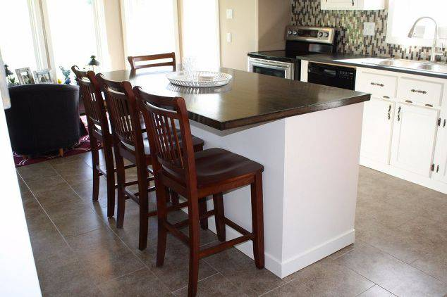 Single Wide Makeover: Modern Traditional Decor - new Kitchen island update