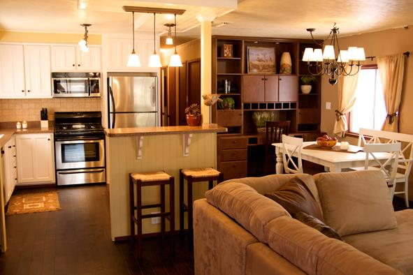 mobile home room ideas - dining room