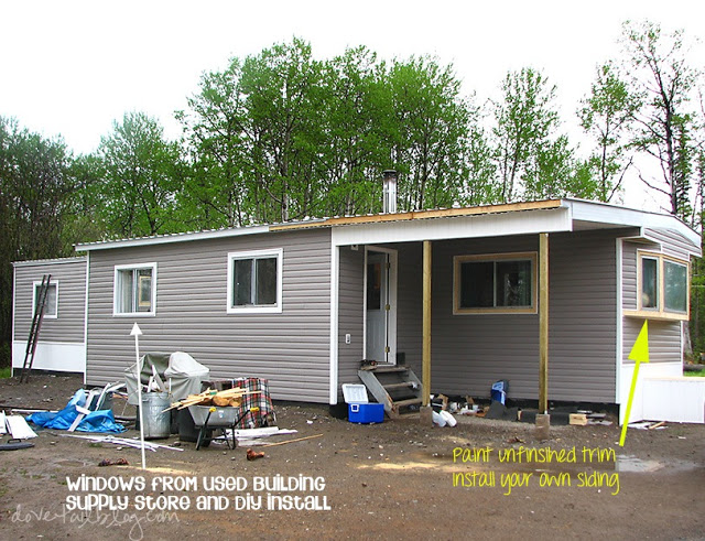 mobile home additions - after