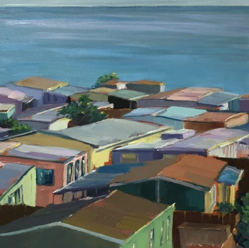 mobile home artist-rooftops