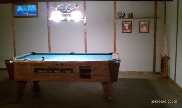 mobile home basement interior