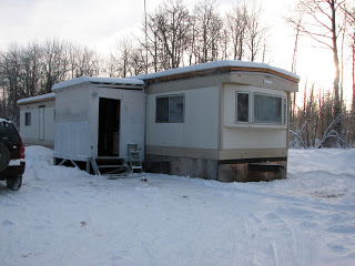 mobile home before addition