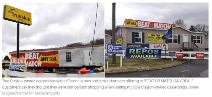 mobile home dealership advertising