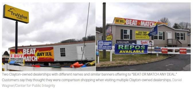 mobile home dealership advertising