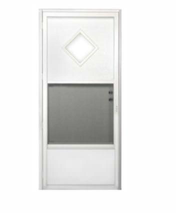 mobile home door-exterior door with window