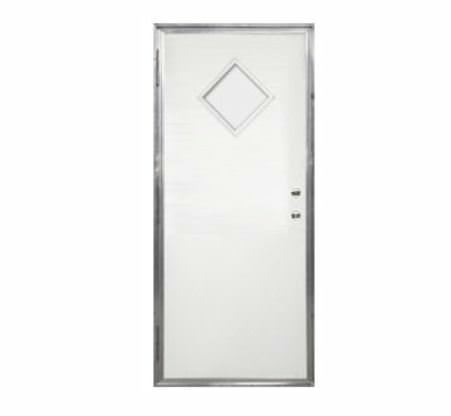mobile home door-outswing door with diamond