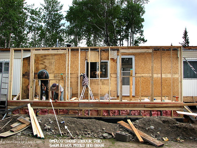 Mobile home additions guide footers roofing and for Building onto a house