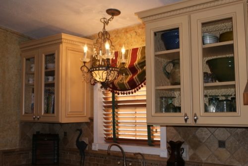 mobile home improvement projects - new lighting