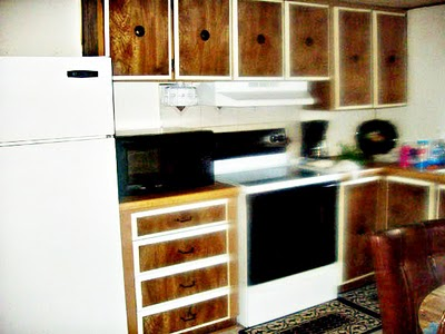 mobile home kitchen before remodel