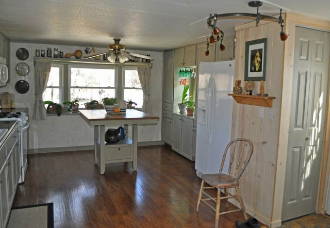 Mobile Home Kitchen Makeover After