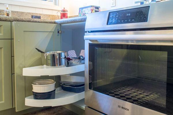 mobile home kitchen renovation - Super Susan image