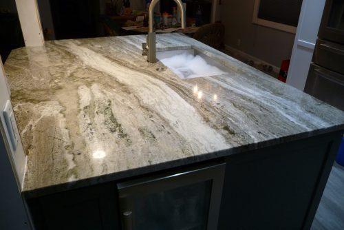 DIY mobile-home-kitchen-upgrade-finished-sink