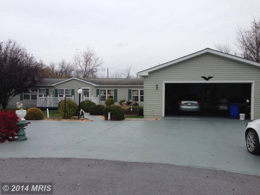 buying a mobile home in west virginia-double wide with garage