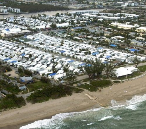 buying a mobile home in florida-BrinyBreezesAerialOcean