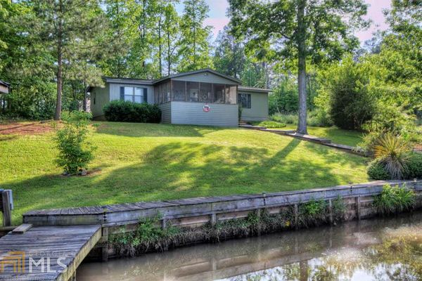 Buying a mobile home in georgia-lake living
