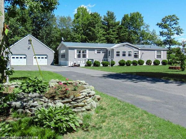 Buying a mobile home in maine-double wide