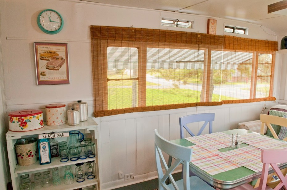 vintage mobile home makeover and remodel