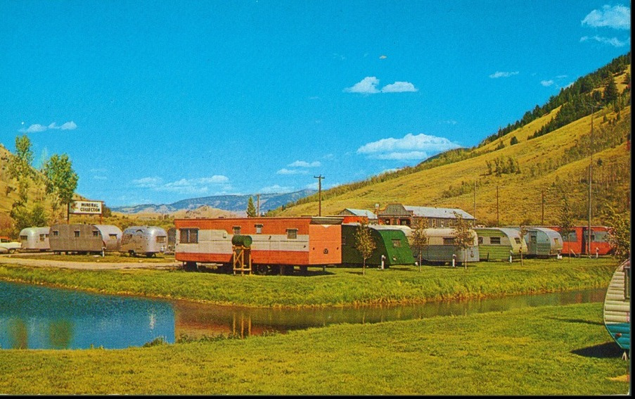 trailer trash-mobile home park