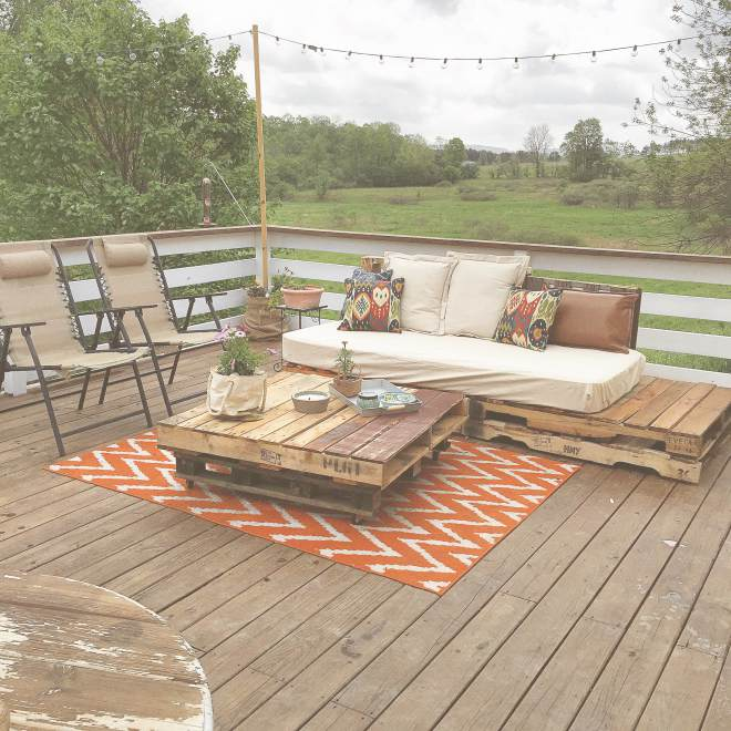 mobile home remodels-chantal back deck