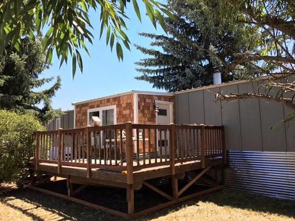 mobile home remodels-epic WA single wide exterior after