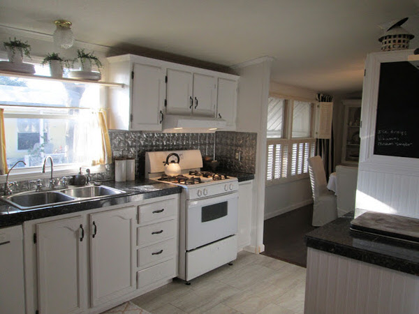 mobile home remodels-gorgeous double wide makeover kitchen after