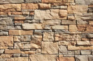 using rock for mobile home siding