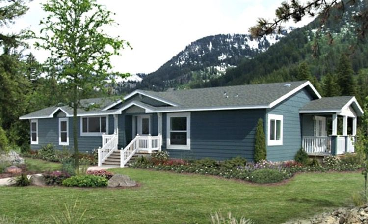 Mobile home siding - vinyl siding on a double wide