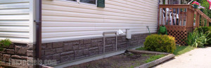 mobile home skirting - rouck foundation