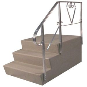 mobile home steps dura-grip II fiberglass steps