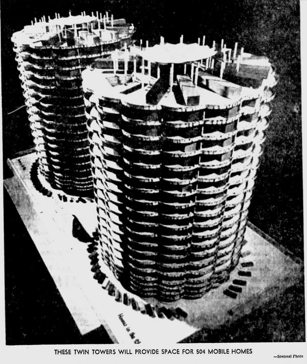Skyerise terrace - high rise mobile home tower