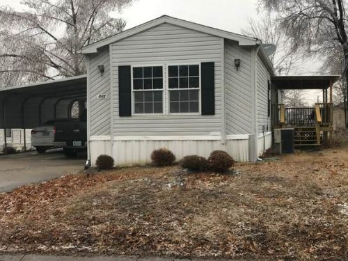 mobile homes for sale this Spring-kansas exterior