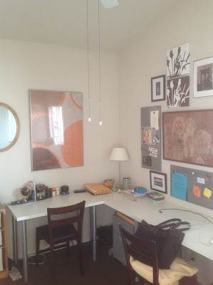modern manufactured home remodel - office before
