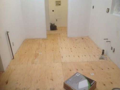 Questions about mobile home subfloors - mod manufactured home - subflooring installedl