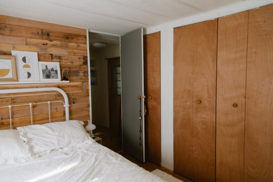 modern bedroom decor in mobile home - mobile home bedrooms