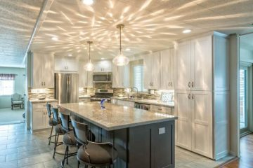 modern manufactured home kitchen remodel full kitchen 2