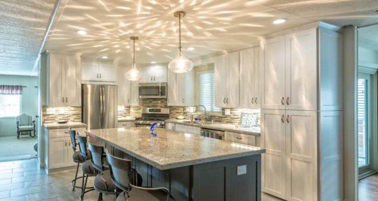 modern manufactured home kitchen remodel full kitchen 2