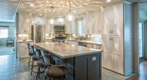 modern manufactured home kitchen remodel full kitchen